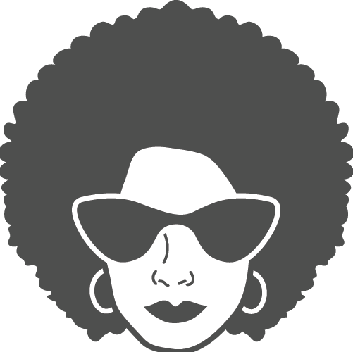 Woman with Afro hair representing Funk genre