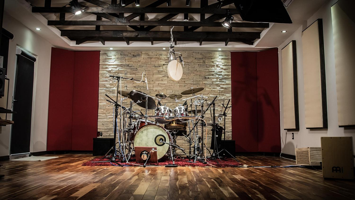 Drum recording studio, Grooves Recording Studio, where Goran Rista records and produces custom drum tracks